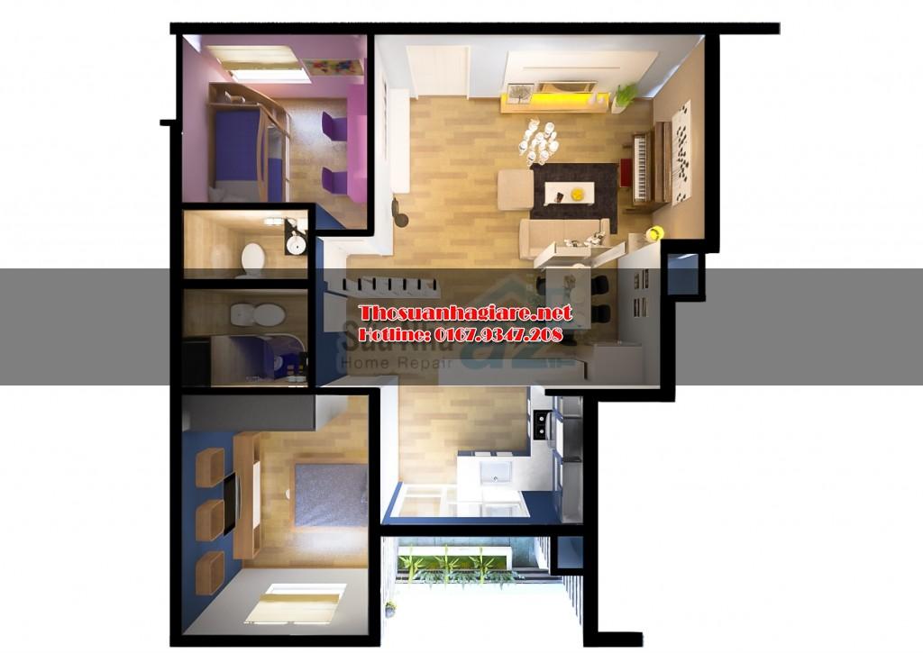 Chuyên sửa nhà trọn gói tại Thanh Xuân