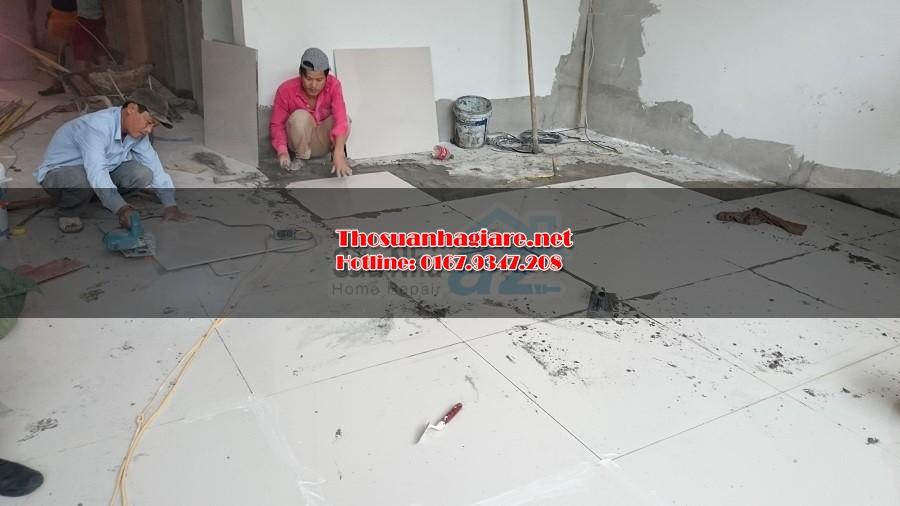 Các bước lát gạch nền và kỹ thuật lát gạch nền nhà 1