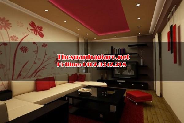 sử dụng giấy dán tường trong thiết kế nội thất 4