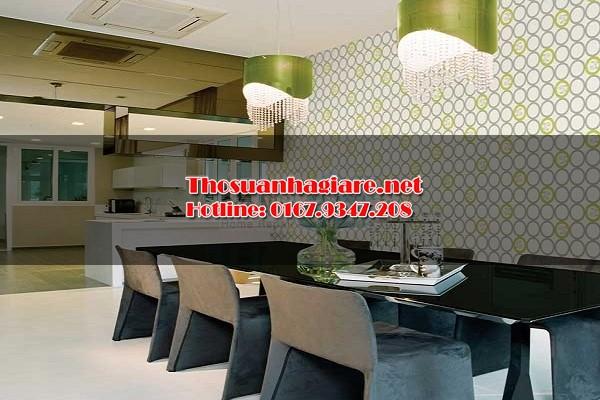sử dụng giấy dán tường trong thiết kế nội thất 6