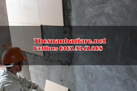 Các bước thi công ốp gạch tường và kỹ thuật ốp lát 1