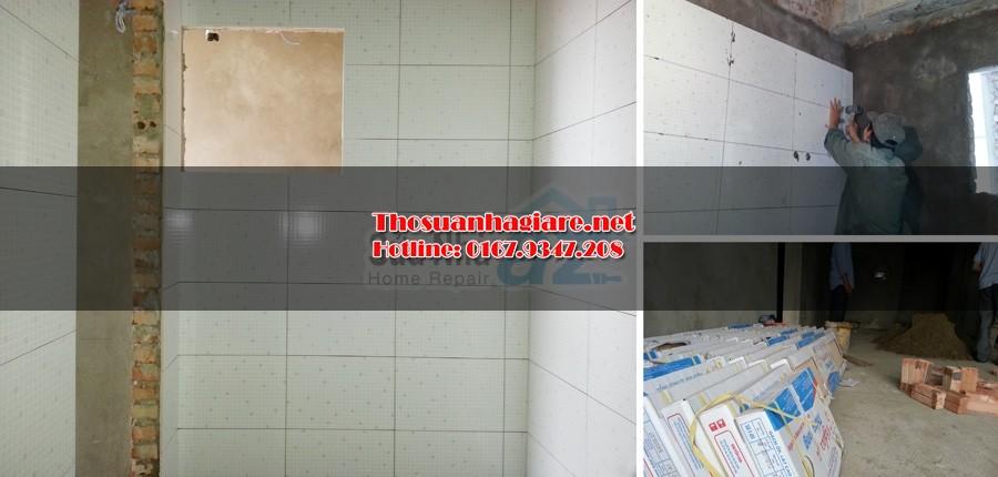 Các bước thi công ốp gạch tường và kỹ thuật ốp lát 2
