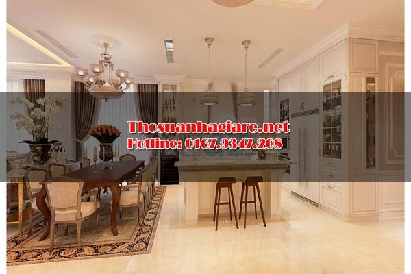 thiết kế nội thất chung cư mang phong cách châu âu 6