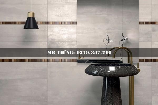 Xu hướng kết hợp gạch lát nền nhà tắm đẹp 2018 12
