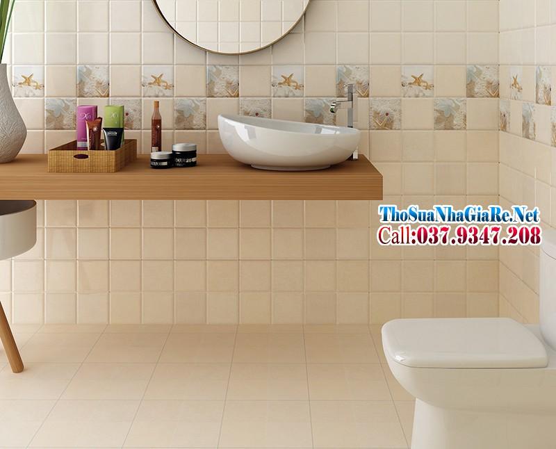 Chọn gạch ốp tường nhà tắm, nhà vệ sinh