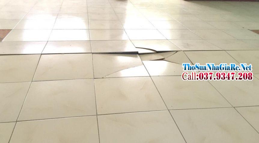 Cách khắc phục nền gạch lát bị ộp