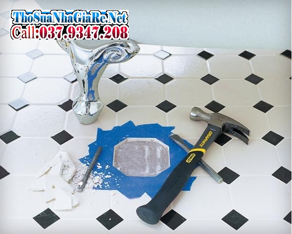 Cách tự sửa gạch lát nền bị vỡ đơn giản