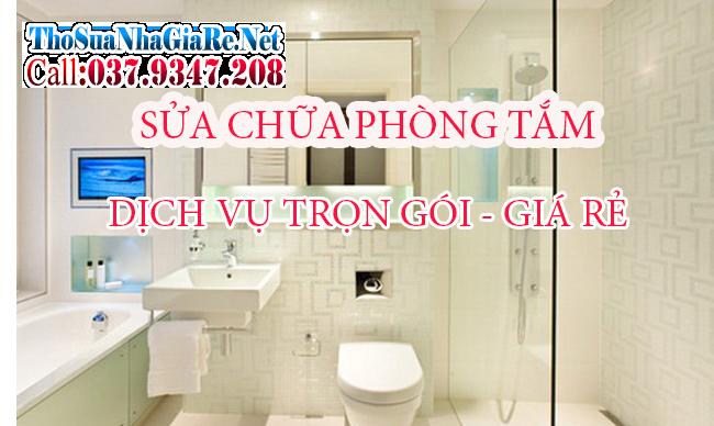 Nhận sửa chữa cải tạo nhà tắm giá rẻ