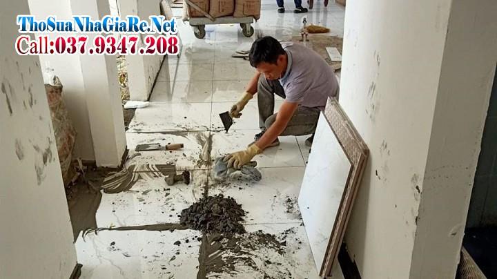 Thợ ốp lát nhân công giá rẻ tại Hà Nội