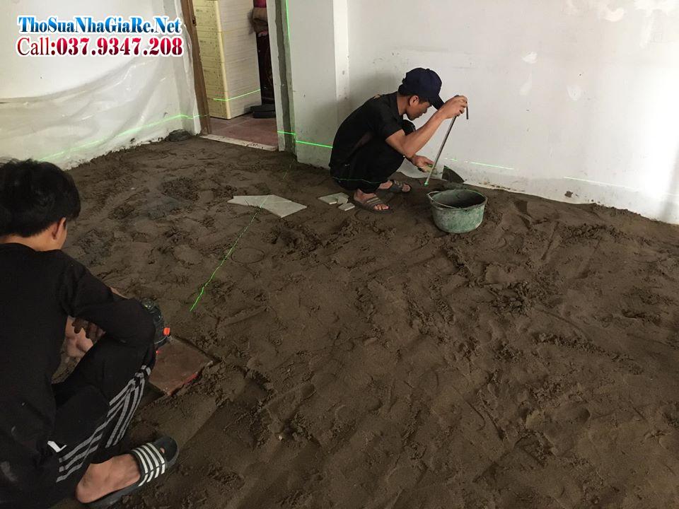 Cán nền, tôn nền, láng bê tông nền giá rẻ tại Hà Nội