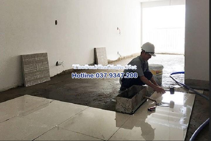 Thợ ốp gạch, lát nền chuyên nghiệp tại cầu giấy