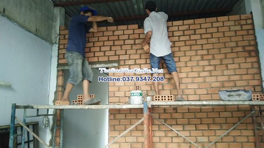 Đội thợ xây dựng Hà Nội, xây trát tường Uy Tín số 1 Hà N