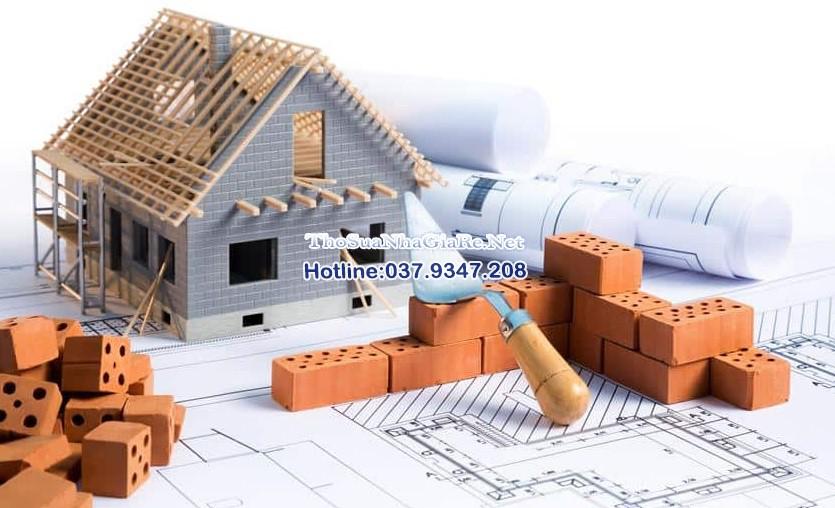 Giới thiệu thợ xây tường, trát tường, thợ xây dựng, sửa nhà giá rẻ tại Hà Nội