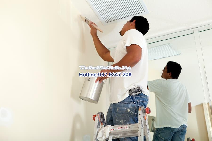 Đội thợ sơn sửa nhà giá rẻ tại Quận Hà Đông